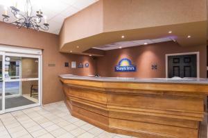 The lobby or reception area at Days Inn by Wyndham Hershey
