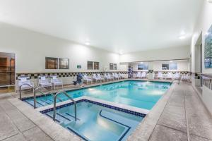 The swimming pool at or near Days Inn by Wyndham Hershey