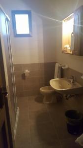 Koupelna v ubytování Hotel Sole