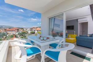 A balcony or terrace at Apartments Soho