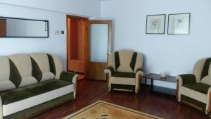 A seating area at Sea View Noblesse Apartment Constanta