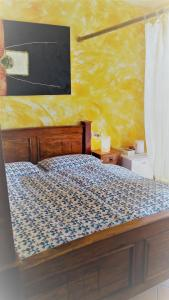 A bed or beds in a room at Villa Agnese