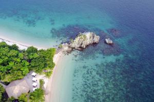 A bird's-eye view of Angel Island Resort