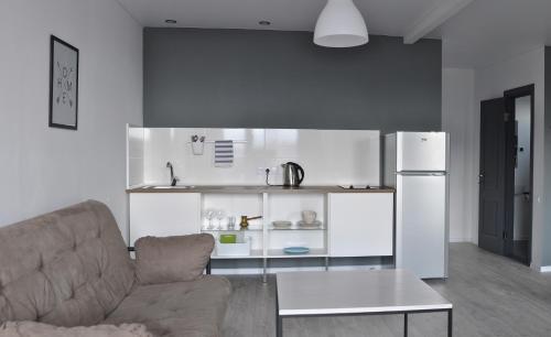 Кухня или мини-кухня в Отель Wigwam
