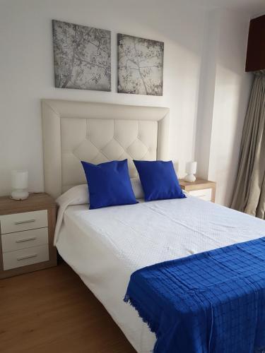 Cama o camas de una habitación en Alhambra Apartment