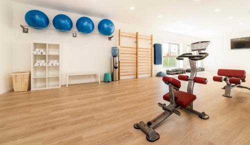 Centrum fitness w obiekcie Hoposa Uyal 4 Sup