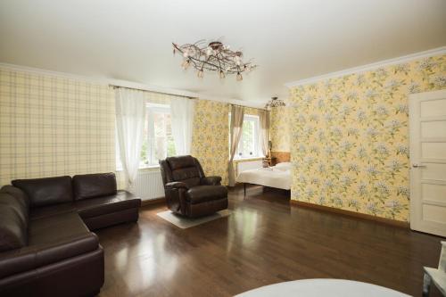 Гостиная зона в Sunny Svetlogorsk 5