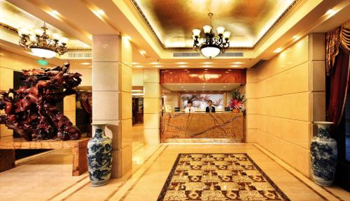 The lobby or reception area at Guangzhou The Royal Garden Hotel