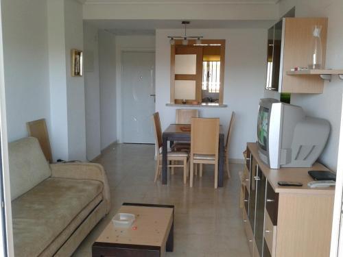 Zona de estar de Costa Azahar Apartments Beach
