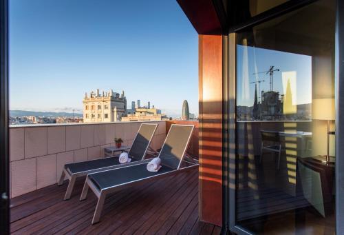 Balcone o terrazza di Eurostars Monumental