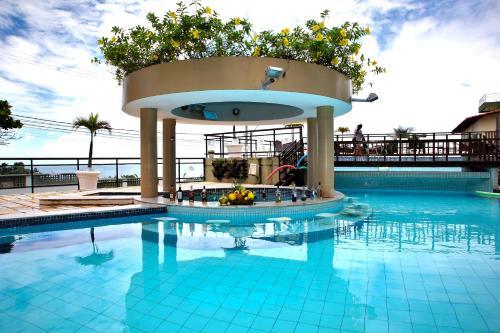 The swimming pool at or near Hotel Costa do Atlantico