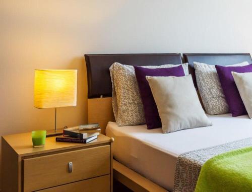 Krevet ili kreveti u jedinici u objektu La Vita e Bella Apartment