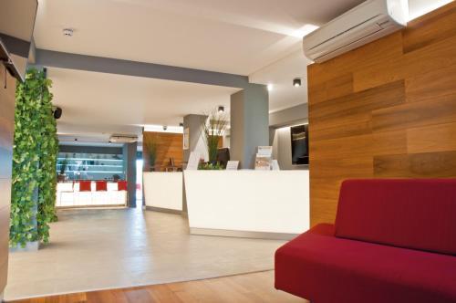 The lobby or reception area at San Marino Sunny Resort by Valamar