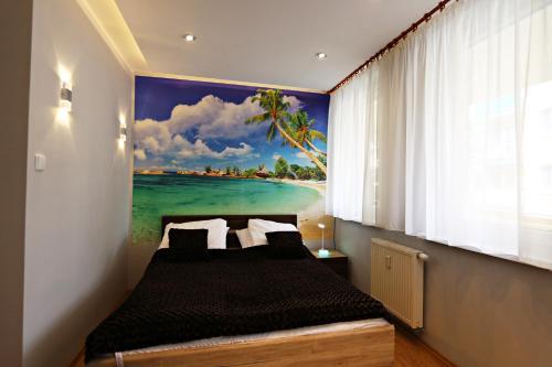 Łóżko lub łóżka w pokoju w obiekcie Baltic Home Helios