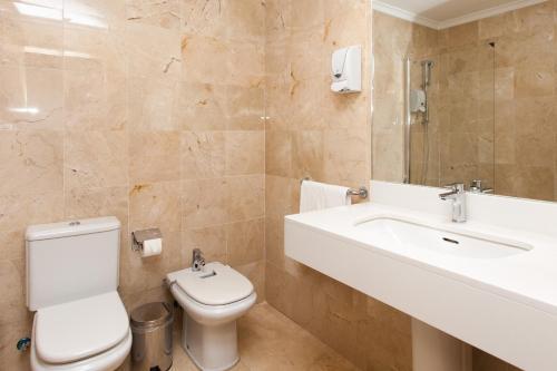Un baño de Hotel el Mirador de Fuerteventura