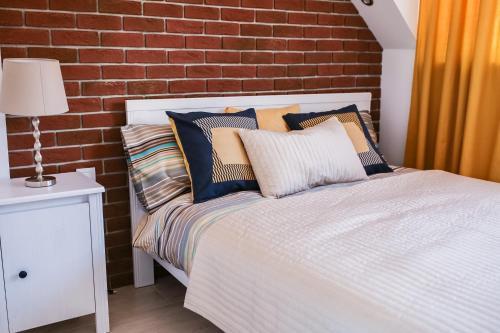 Łóżko lub łóżka w pokoju w obiekcie Apartament MER - Idealny dla Ciebie