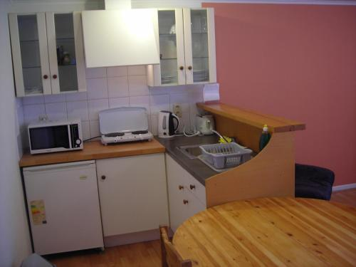 A kitchen or kitchenette at Huize Rafael