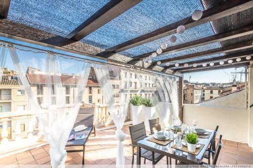 Restaurant ou autre lieu de restauration dans l'établissement Atico el Muro