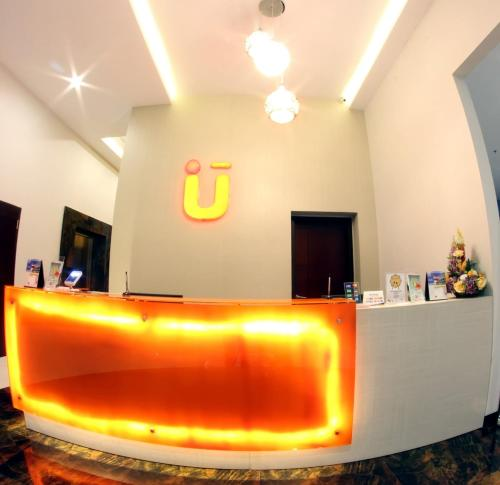 The lobby or reception area at Urban Style by Front One