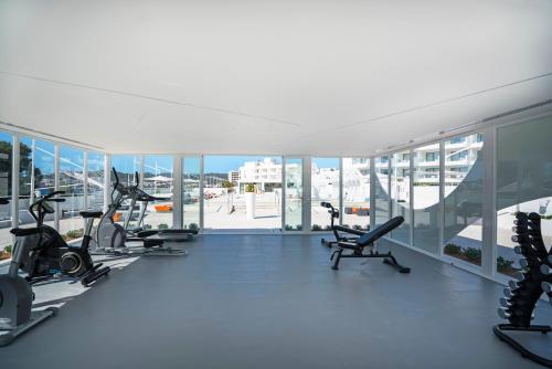 Het fitnesscentrum en/of fitnessfaciliteiten van THB Naeco Ibiza - Adults Only
