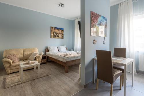 Część wypoczynkowa w obiekcie Apartamenty Apart Polska