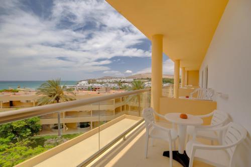 Balkon lub taras w obiekcie SBH Costa Calma Beach Resort Hotel