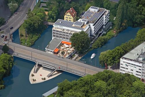 A bird's-eye view of Insel-Hotel Heilbronn