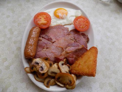Eten bij of ergens in de buurt van het pension