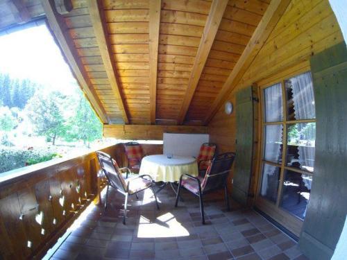 Ein Balkon oder eine Terrasse in der Unterkunft Landhaus Haid Fewo Alpenrose