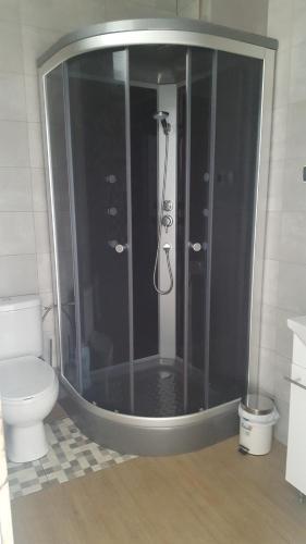 A bathroom at Tequeron