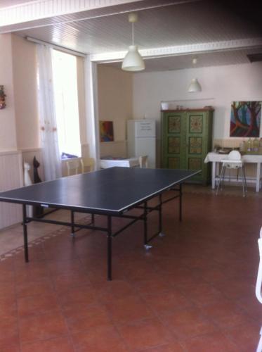 Stolní tenis v ubytování Hostel Villa Succa nebo okolí