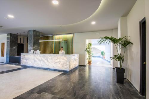The lobby or reception area at Exotica Hotel & Spa by Zante Plaza