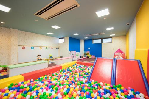 The kid's club at Route Inn Grantia Hanyu Spa Resort
