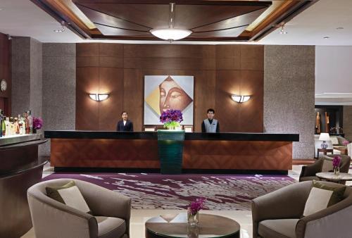 曼谷悅榕莊酒店大廳或接待區
