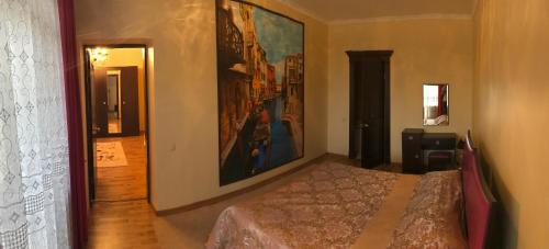 Кровать или кровати в номере Гостиница Корона