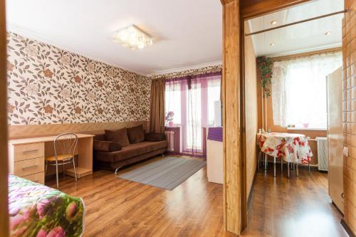 Гостиная зона в Apartments Amber Museum