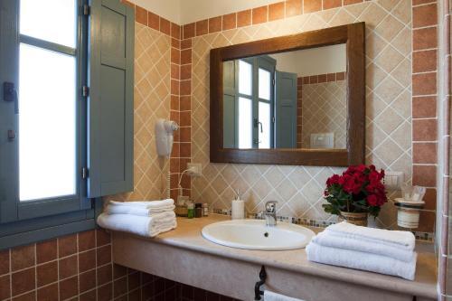 A bathroom at Hotel Bia Maore