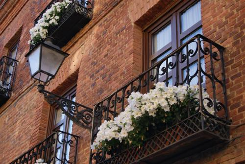 A balcony or terrace at Hotel La Posada Regia