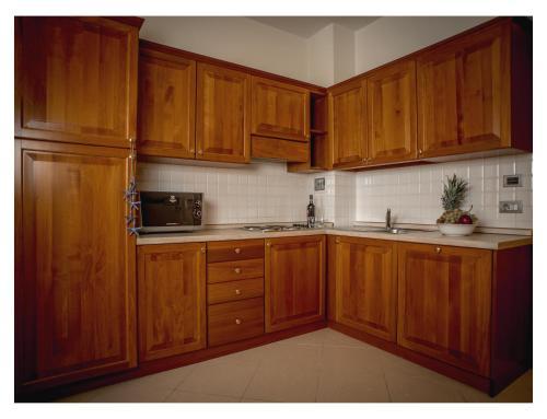 A kitchen or kitchenette at Lido Resort