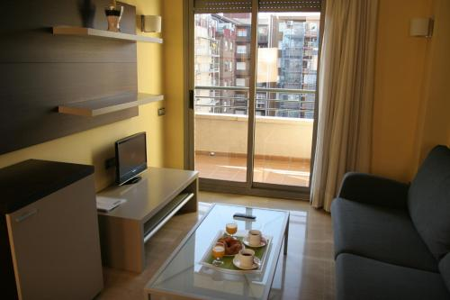 Zona de estar de Suites Independencia - Abapart