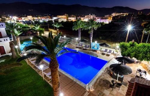 A view of the pool at Stelios Gardens or nearby