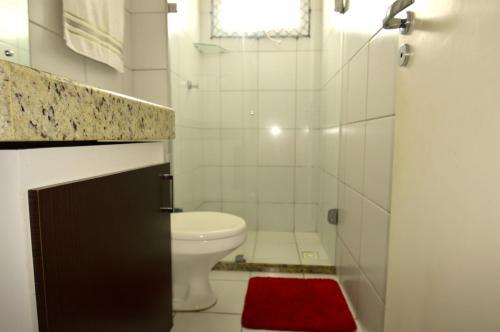 A bathroom at Apartamentos Verano