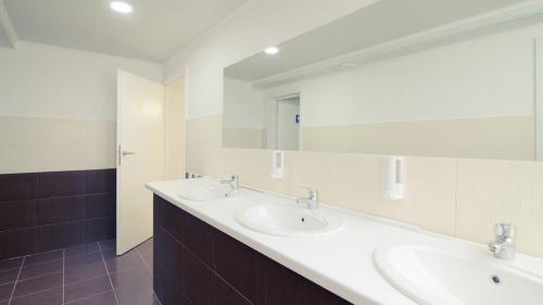 Ванная комната в Gar'is Hostel Kyiv