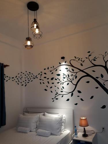 Salle de bains dans l'établissement Lala Hostel