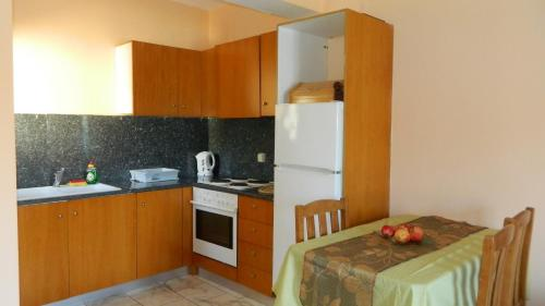 Una cocina o zona de cocina en Forkis Apartments