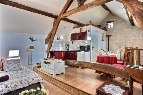 A kitchen or kitchenette at Le 5