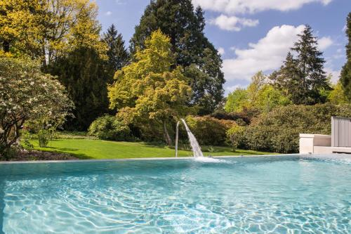 The swimming pool at or near Rudding Park
