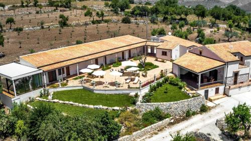 Vista aerea di Relais Villa del Monte