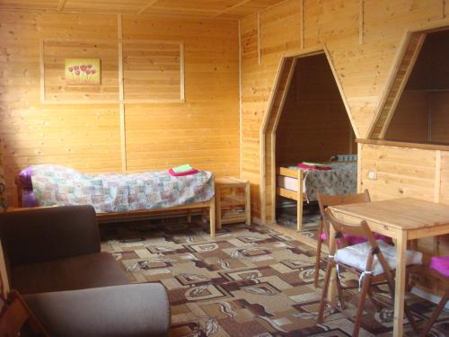 Гостиная зона в Guest house Ustujanin & pomor