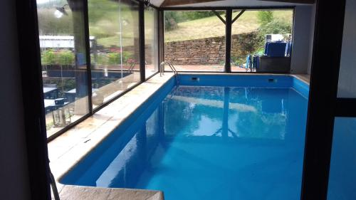 The swimming pool at or close to D'Tour Gourmand